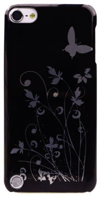 Чехол для iPod Touch 5 Hard Print Cover Butterfly Black