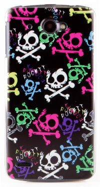 Чехол для Lenovo IdeaPhone S920 Hard Print Cover Rock It