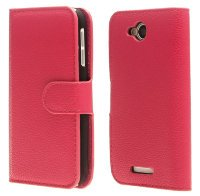 Чехол для Lenovo IdeaPhone A706  Litchi Leather Flip Cover