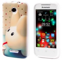 Чехол для Lenovo IdeaPhone A390T Silicon Print Cover Big Ears