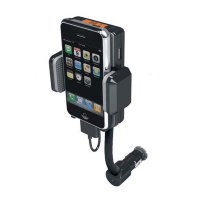 Держатель/FM трансмиттер для iPhone, iPod, FM Holder iPower F1-III