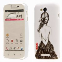Чехол для Lenovo IdeaPhone A706 Hard Print Cover Ballet Girl