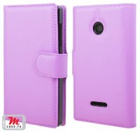 Чехол для Microsoft Lumia 435 Litchi Leather Flip Cover