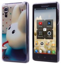 Задняя крышка для Lenovo IdeaPhone P780 Hard Print Cover Big Ears