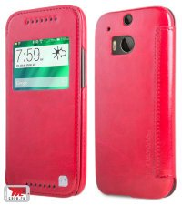 Чехол для HTC One M8 HOCO Leather Case Crystal Series