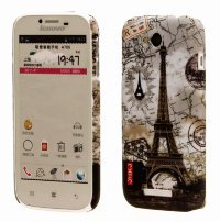 Чехол для Lenovo IdeaPhone A706 Hard Print Cover Paris