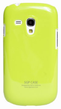 Чехол-накладка для Samsung Galaxy S3 mini i8190 Simple Style SGP Hard Case Cover салатовый