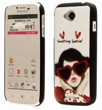 Чехол для Lenovo IdeaPhone A706 Hard Print Cover Something Special