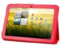 Чехол для Acer Iconia Tab A200 Smart Slim Cover красный