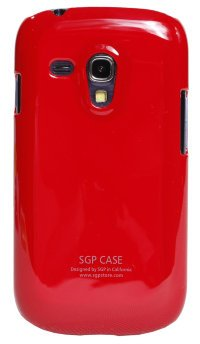 Чехол-накладка для Samsung Galaxy S3 mini i8190 Simple Style SGP Hard Case Cover красный