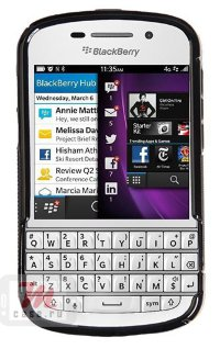 Бампер для Blackberry Q10 черный