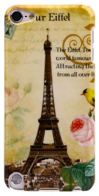 Чехол для iPod Touch 5 Hard Print Cover Paris