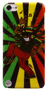 Чехол для iPod Touch 5 Hard Print Cover Rasta
