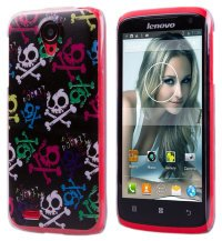 Чехол для Lenovo IdeaPhone S820 Hard Print Cover Rock It