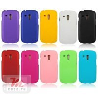 Чехол-накладка для Samsung Galaxy S3 mini i8190 Simple Style SGP Hard Case Cover голубой