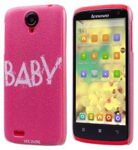 Чехол для Lenovo IdeaPhone S820 Frosted Print Cover Baby
