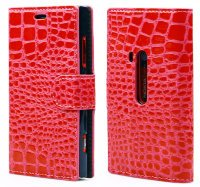 Чехол для Nokia Lumia 920 Crocodile Flip Cover