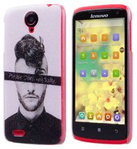 Чехол для Lenovo IdeaPhone S820 Frosted Print Cover Dont Tell