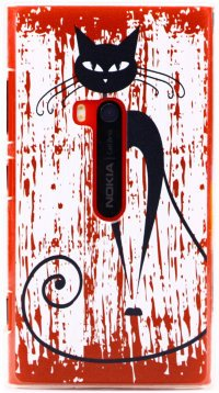 Чехол для Nokia Lumia 920 Cat Power Hard Cover