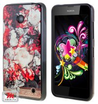 Чехол для Nokia Lumia 630 Armitage Silicon Shell #11