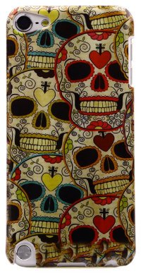 Чехол для iPod Touch 5 Hard Print Cover Death's Head
