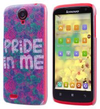 Чехол для Lenovo IdeaPhone S820 Frosted Print Cover Pride In Me