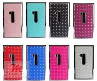 Чехол для Nokia Lumia 920 Crystal Chrome Case, черный