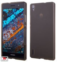 Чехол для Huawei Ascend P7 Silicon Color Shell