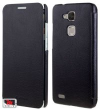 Чехол для  Huawei Ascend Mate 7 Litchi Leather Flip Cover