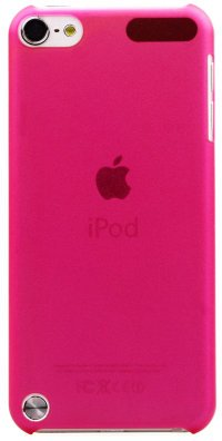 Чехол для iPod Touch 5 Crystalline Cover малиновый