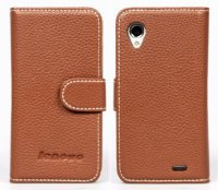 Чехол для Lenovo IdeaPhone P770 Leather Business Book