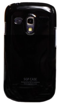 Чехол-накладка для Samsung Galaxy S3 mini i8190 Simple Style SGP Hard Case Cover черный