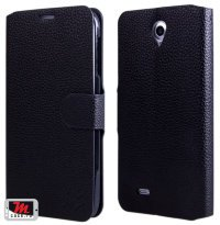 Чехол для Lenovo IdeaPhone A850 Litchi Leather Flip Cover