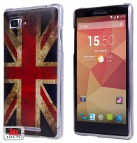 Задняя крышка для Lenovo IdeaPhone K910 vibe Z Hard Print Cover Great Britan