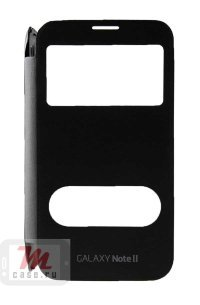 Чехол View Cover для Samsung Galaxy Note 2 Space Gray