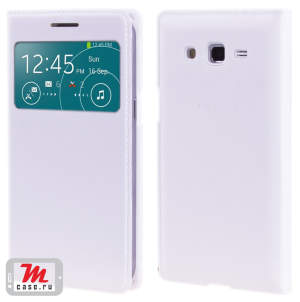 Чехол для Samsung Galaxy Grand 2 G7102 Leather Samsung Style S-View Cover