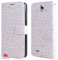 Чехол для Lenovo IdeaPhone A850 Happy Loves Cover