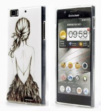 Чехол для Lenovo IdeaPhone K900 Silicon Print Cover