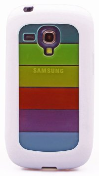 Чехол для Samsung Galaxy S3 mini i8190 TPU Rainbow Jacket