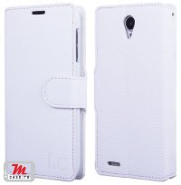 Чехол для Lenovo IdeaPhone S650 Vibe X mini Litchi Leather Flip Cover