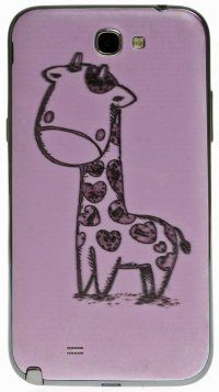 Задняя крышка для Samsung Galaxy Note 2 Back Print Cover