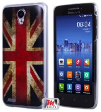 Задняя крышка для Lenovo IdeaPhone S650 Vibe X mini Hard Print Cover Great Britan