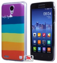 Задняя крышка для Lenovo IdeaPhone S650 Vibe X mini Hard Print Cover Corolful Day