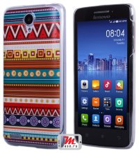 Задняя крышка для Lenovo IdeaPhone S650 Vibe X mini Hard Print Cover Indi