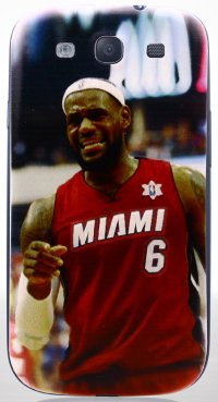 Задняя крышка для Samsung Galaxy S3 i9300/i9300i (S3 Duos) Back Print Cover Lebron James