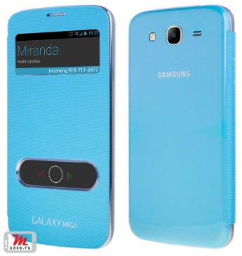 Чехол для Samsung Galaxy Mega 5.8 i9152 S-View Glass Cover Чехол для Samsung Galaxy Mega 5.8 i9152 S-View Glass Cover
