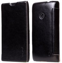 Чехол для Nokia Lumia 520 Pudini Thin Leather Case