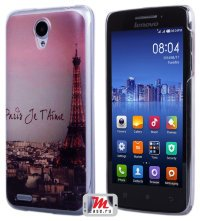 Задняя крышка для Lenovo IdeaPhone S650 Vibe X mini Hard Print Cover Paris