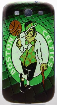 Задняя крышка для Samsung Galaxy S3 i9300/i9300i (S3 Duos) Back Print Cover Boston Celtics