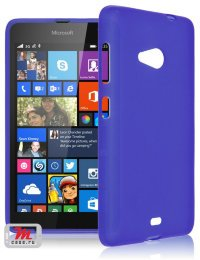 Чехол для Microsoft Lumia 535 Silicon Color Shell